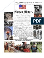 Warren Mi History Part One 1-28