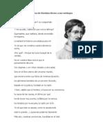 Poema de Giordano Bruno a Sus Verdugos