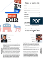 Whitfield Election Guide 2012