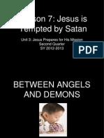 Lesson 7 Temptation of Jesus