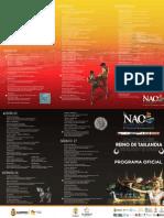 Programa Oficial Nao Acapulco 2012