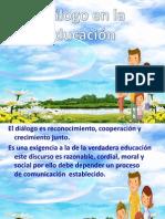 dialogo en la educación