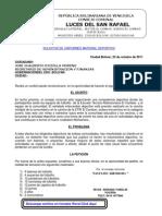 Solicitud de uniformes y balones a la gobernación del estado Bolívar