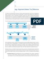 Towers Perrin Insurance Organisational Alignment White Paper June 2009