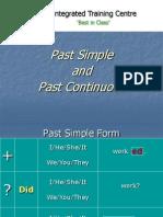 Past Cont vs Simple Past Good