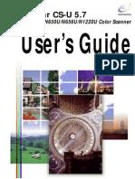 ScanGear CSU5.7(Canoscan N650U) Guide
