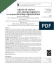 An Analysis of Career Advancement Among Engineers