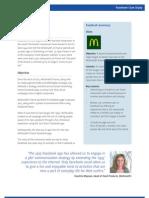 McDonald's France en CaseStudy