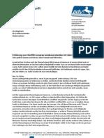 Offener Brief Mitglieder Niedersachsen