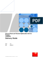 Service Route and Timeslot Optimization Service Product V300R003 - Delivery Guide-20101109-A