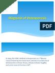 Osteoporosis Diagnosis 2