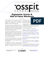 CrossFit Journal 04 02 Erg Scores Hof Workouts