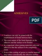 5.2 Adhesives