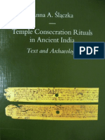 Temple consecration rituals in ancient India Text and Archaeology- Anna Aleksandra Ślączka