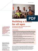 Building a future for all ages