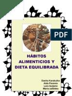 HABITOS ALIMENTICIOS Y DIETA EQUILIBRADA