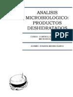 ANALISIS MICROBIOLOGICO DE PRODUCTOS DESHIDRATADOS GUIA Nº3