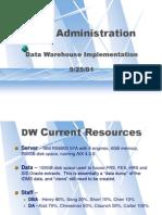 Dw Presentation 20010925