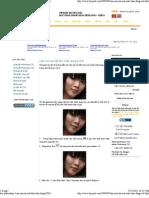 hoc photoshop_ Làm mịn da mặt ảnh chân dung (CS4)
