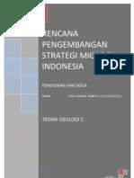 Makalah KWN -Rencana Pengembangan Strategi Migas Di Indonesia