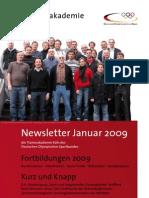 Newsletter Trainerakademie Köln