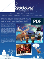 Garsons Esher Christmas Gazette 2012