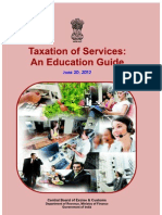 Taxation of Services Guide 20-June-12