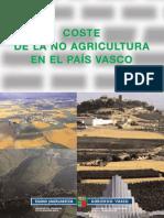 Coste No Agricultura CAPV 2006
