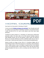 Hotels near The Industrial Company St. Petersburg
