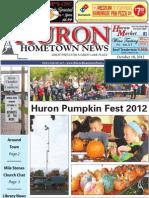 Huron Hometown News - October 18, 2012