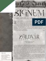 Signum 3. - Zöld Vár