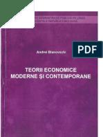 Teorii Economice Moderne Si Contemporane A.Blanovschi