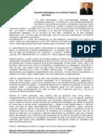 Planeamiento en Sector Publico de Peru
