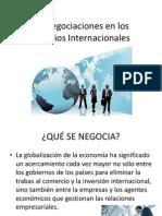 Las Negociaciones en Los Negocios Internacionales Clase 7