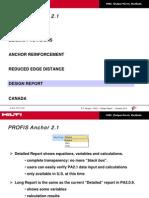 Pa2.1 Design Report
