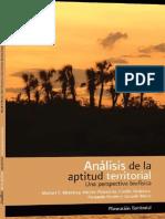 Análisis de la aptitud territorial - un perspectiva biofisica