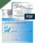 Bulletin October 21 2012