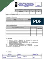Modelo de Formato de Procedimientos