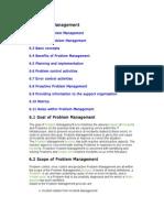 Problem Management - Itil