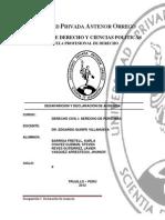 Monografia Desaparicion y Declaracion de Ausencia