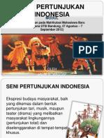 Jaeni Bw- Seni Pertunjukan Indonesia