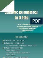 Consumo de Alimentos PERU