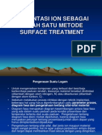 Implant - Surface Treatment 1