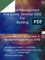 Fire Seminar
