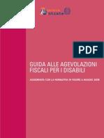 Guida Alle Agevolazioni Fiscali Per i Disabili 2008