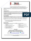 Navarro College TRiO Application Packet