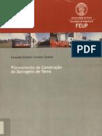 Planeamento da construção de barragens de terra