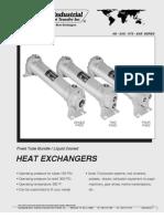 American Industrial Liquid Cooled Oil Heat Exchanger
