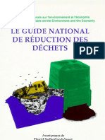 Le guide national de réduction des déchets