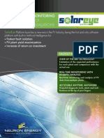 SolarEye Platform | Solar Photovoltaic Monitoring - Product Brochure